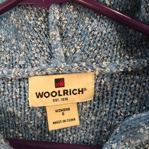 Woolrich Sweaters - Women's WOOLRICH Peacock Heather Hooded Sweater